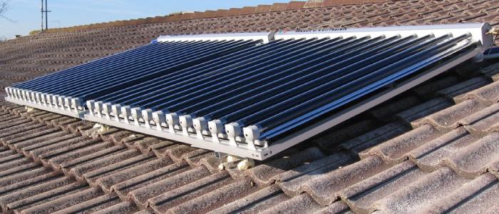 Il collettore solare e nsight by gruppo efesto for Immagini pannello solare
